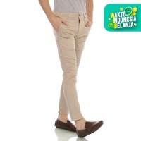 Cottonology Celana Panjang Chino Cream Pria