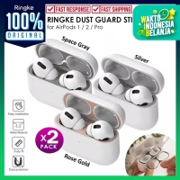 AirPods Pro / 2 / 1 RINGKE Dust Proof Case Sticker Protector Anti Debu