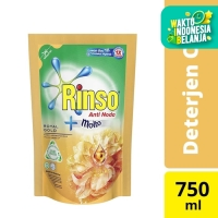 Rinso Molto Deterjen Cair Royal Gold 750 Ml