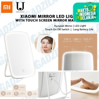 XIAOMI MIRROR LED LIGHT WITH TOUCH SCREEN KACA MAKEUP CERMIN RIAS