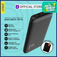UNEED PowerBank 10000 mAh QC 3.0 UPB101PD QuickBox PD10 Power Delivery