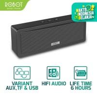 Speaker Bluetooth 3.0 ROBOT RB430 Square Mini HiFi - Garansi 1 Tahun