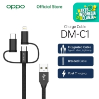 OASE USB Charging Cable 3-in-1 DM-C1 [OPPO Official Accessories]