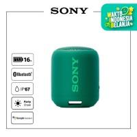 SONY SRS-XB12 Green Extra Bass Waterproof Bluetooth Speaker / XB12