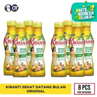 KIRANTI ORIGINAL [8 BOTOL] - FREE NOTEBOOK