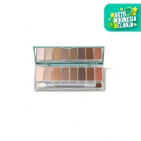Wardah Exclusive Eyeshadow Palette 01 Sunset Brown 10 g