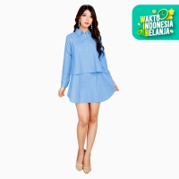 Tunik Kemeja Lengan panjang Wanita Model Terbaru - JFASHION New Hiraku