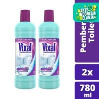 Vixal Pembersih Porselen Kuat Harum 780Ml Twinpack