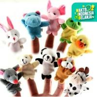 B01 Animal Finger 10Pcs Puppet Boneka Jari Tangan Binatang Mainan Anak