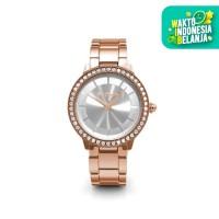 Pure Watch Rose Gold - Jam Tangan Crystal Swarovski by Her Jewellery