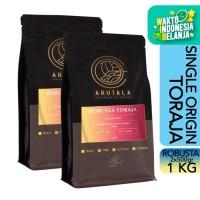 ARUTALA Kopi Toraja Rantebua Robusta Coffee 1KG