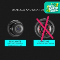 Spy IP HD Mini Camera Kamera CCTV Gantung Night Vision 360eyes