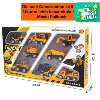 DIE CAST CONSTRUCTION / DIE CAST MOBIL KONSTRUKSI ALAT BERAT