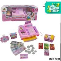 Mainan Cash Register Kasir Supermarket OCT 7304