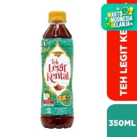 Teh Legit Kental - Original 350ml - [1 Karton Isi 24 Pcs]