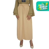 ROK PANJANG MUSLIM WANITA - ZAHRA SIGNATURE - Long Skirt Plisket Basic