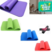 matrass yoga yoga mat karpet spons 10 mm bonus tas