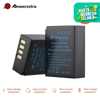POWEREXTRA BATTERY FUJI NP-W126 FOR XA2 XA3 XA5 XA10 ETC