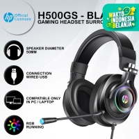 Headset Gaming HP H500GS - The Real 7.1 Surround RGB LED