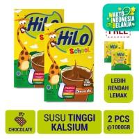 Twin Pack: HiLo School Chocolate 1000gr FREE HiLo School Candy (20 Sc)