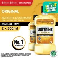 (DAPAT 2) LISTERINE® Original Mouthwash / Obat Kumur 500ml