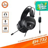 DAREU EH-732 7.1 Surround Sound Gaming Headset with SOUND CARD