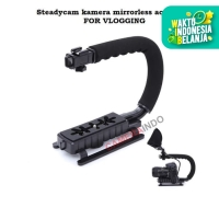 Steadycam VLOG video kamera stablizer for mirrorless actioncam