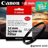 FILTER UV CANON 52 MM