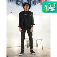 313 Celana Panjang Jeans Pria Selvedge Slim Fit Raw Sanforized 14 OZ - 30