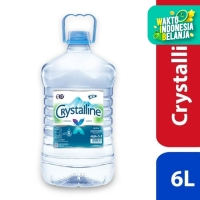 Crystalline Mineral Water 6L - [Isi 1 Galon]