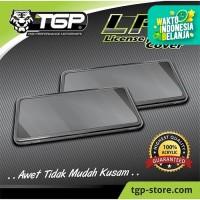 Cover Plat Nomor Motor TGP Hijau Transparan