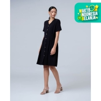THIS IS APRIL - Lawrence Dress Black - 773309