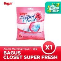 Bagus Closet Super Fresh Morning Flower 60 gr