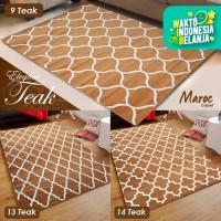 [Carpet Shop ID] Karpet Maroc Super Teak 100x150 (monochrome design)