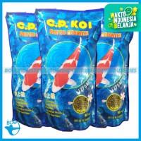 Makanan Pakan Ikan Koi Hias CP Koi Fish Food 5 mm 5mm Medium 1 Kg