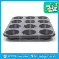 Bursa Dapur Master Pastry Non-Stick Loyang 12 Cup Muffin Pan