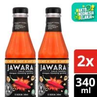 Jawara Saus Sambal Hot 340Ml Twin Pack