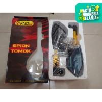 Spion Tomok Cnc Nmax Aerox 155 Mx Dll Universal Hitam Gold