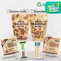 Paket Spesial Granola - East Bali Cashews, Granola Creation, Fitbar -