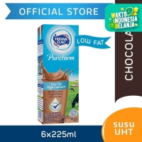 Frisian Flag Purefarm UHT Low Fat Belgian Chocolate 225ml [6 pcs]