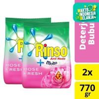 Rinso Molto Deterjen Bubuk Rose Fresh 770G isi 2