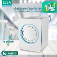 Zola Steril Baby Bottle/Masker UV-C Waterless Sterilizer & Hot Air Dry