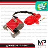 Koil / CDI / Coil Pengapian Racing Merah Motor Mini 50cc mesin tarik