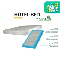 PROMO TERBATAS ! Kasur Latex Naturatex Hotel Bed Deluxe uk. 160x200 cm