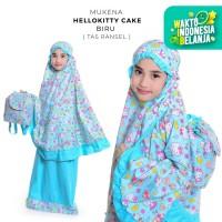 Mukena Anak Katun Hello Kitty Cake ( Tas Ransel )