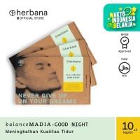 Herbana Balance Madia Good Night - 10 Kaplet (Bundling 3pc)