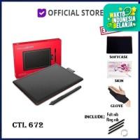 Wacom One by CTL-672/K0-C Medium Creative Pen Tablet CTL672 CTL 672 KO