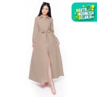 Tunik Kemeja Lengan Panjang Wanita Casual model Terbaru - Kara