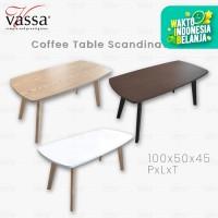 MEJA TAMU / SCANDINAVIAN COFFEE TABLE / COFFEE TABLE / VASSA SOFA