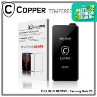 Samsung Note 20 - COPPER Tempered Glass FULL GLUE PREMIUM GLOSSY
